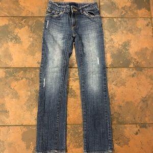 Levi jeans size 10 slim straight